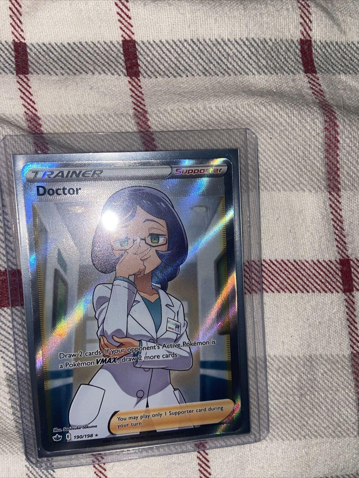 Pokemon Chilling Reign Doctor Trainer Full Art 190/198 NM
