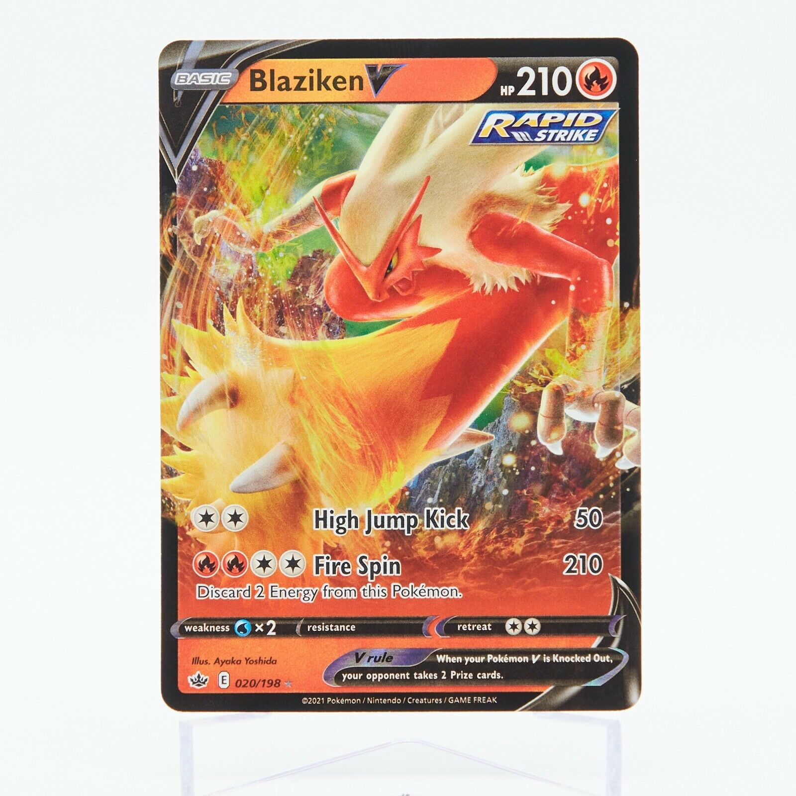 Pokemon - Blaziken V 020/198 Ultra Rare Chilling Reign - NM/M