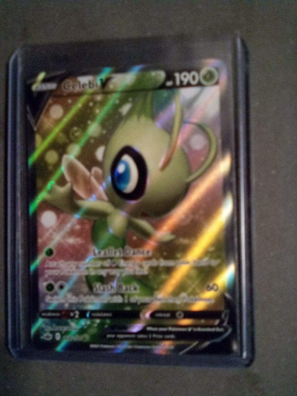 Celebi V Full Art Rare 160/198 Chilling Reign Pokemon Card MINT