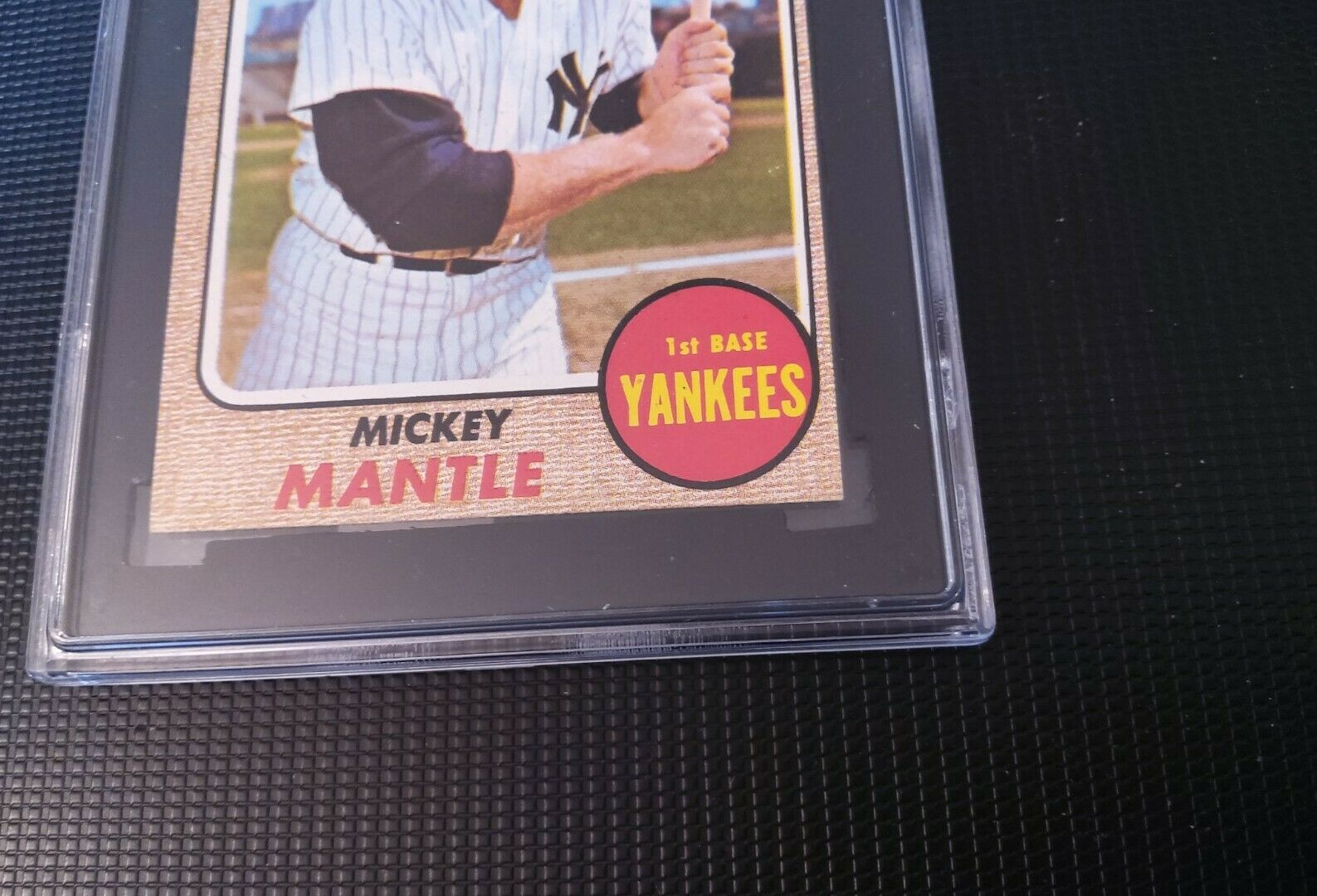 1968 TOPPS BASEBALL #280 MICKEY MANTLE SGC 5 EXCELLENT (60), Nice Corners - Image 4
