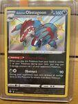 Galarian Obstagoon SV080/SV122 Shiny Holo Rare Pokemon Shining Fates Mint!