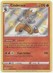 Cinderace SV017/SV122-Pokemon Shining Fates-Shiny Vault-Shiny Holo RARE