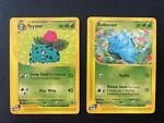 Ivysaur - 82/165 & Bulbsaur 94/165 Expedition Base Set Pokemon. WOTC E-Reader