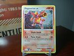 Magmortar Holo Rare 12/123 DP Mysterious Treasures Pokémon Card Swirl Holo Bleed