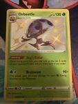 Pokemon Shining Fates Shiny Rare Orbeetle SV009/SV122 NM + 2 Bonus