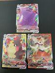 Ditto VMAX 051/072 Morpeko VMAX 038, Cinderace VMAX 019 Shining Fates Pokemon NM
