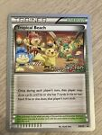 2014 Pokemon Tropical Beach BW50 2014 World Championship Promo card rare NM