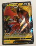 Pokemon TCG: Battle Styles 050/163 -TAPU KOKO V- Holo Rare, NEW