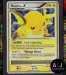 Raichu 99/100 Stormfront Set Reverse Holo WOTC Pokemon Card TCG MP