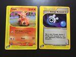 ⭐️ Pokémon Expedition Vulpix 136/165 - Trainer Energy Removal 2 140/165 ⭐️