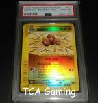 PSA 10 GEM MINT Dugtrio 10/165 Expedition REVERSE HOLO Pokemon Card