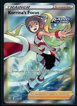 Pokemon Battle Styles Korrina's Focus Full Art Trainer 160/163 - NM/M