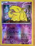 Pokemon - XY Breakpoint - Drowzee (50/122) - Reverse Holo - Light Play