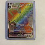 Corviknight Vmax Rainbow Secret Rare 171/163 Pokemon TCG Battle Styles NM