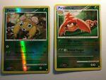 Pokemon Cards: LP Parasect 58/123 & NM Paras 92/123 Mysterious Treasures