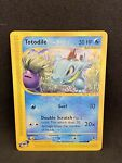 Totodile 134/165 Expedition Base Set E- Series Pokemon Card - NM see pix