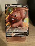 Greedent V 053/072 Shining Fates- NM Ultra Rare Full Art Pokemon Card