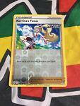 128/163 Korrina's Focus Reverse Holo Uncommon Trainer Pokemon Card Battle Styles