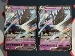 Pokemon Battle Styles 063/163 Necrozma V Ultra Rare Near Mint X2