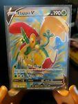 Pokemon Card FLAPPLE V Ultra Rare 143/163 BATTLE STYLES *MINT*