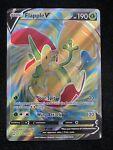 Flapple V Full Art 143/163 Pokemon Card NM Ultra Rare Battle Styles 2021