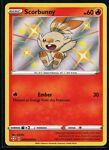 Pokemon Shining Fates Scorbunny SV015/SV122 Shiny Vault - NM/M