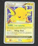 Pokemon Raichu LV. X Holo Ultra Rare Foil Near Mint Stormfront 99/100