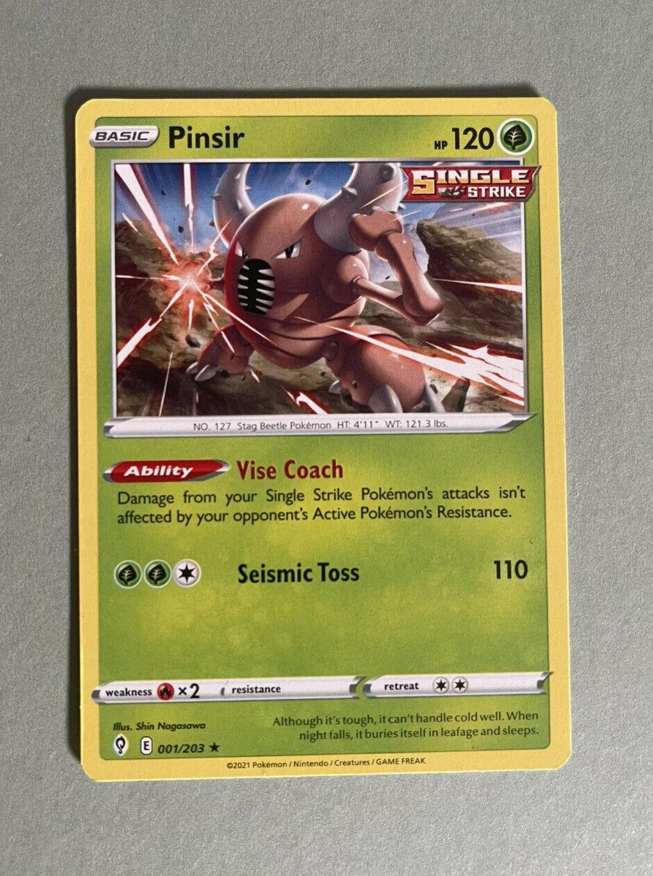 Pinsir - 001/203 - Evolving Skies