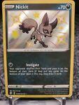 Pokémon TCG Nickit Shining Fates SV081/SV122 Holo Shiny Holo Rare