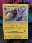 Pokemon Card - Dracozolt Shiny Holo Shining Fates SV045/SV122 - Mint/ Near Mint