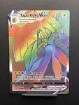 Tapu Koko VMax 166/163 Secret Rare Rainbow Holo Battle Styles Sword And Shield