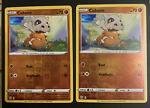2x Cubone Battle Styles 069/163 Reverse Holo Pokemon Card NEAR MINT