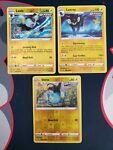 Pokemon Battle Styles 046/163 Shinx 047/163 Luxio 048/163 Luxray Reverse Holo NM