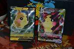 Pokemon TCG 2X Morpeko Vmax 038/072 + V 037/072 Shining Fates NM/M