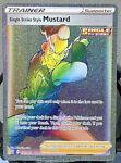 RAINBOW RARE Single Strike Style Mustard 177/163 Pokemon Battle Styles Trainer