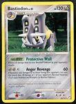 Pokemon Card Bastiodon LV.51 Mysterious Treasures 21/123 PLAYED Non-Holo Rare!!!
