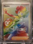 Pokémon TCG Phoebe Sword & Shield - Battle Styles 175/163 Holo Secret Rare