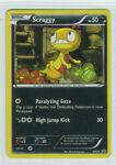 Pokemon Scraggy BW25 Holo Promo Pokemon Black & White Free Shipping!