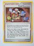 Fossil Excavator 111/123 (DMG, Pokemon Card, Mysterious Treasures, Uncommon)