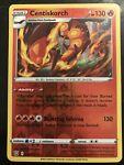 Reverse Holo Centiskorch Pokémon card (Battle Styles set, 030/163, NM)