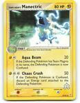 29/95   Team Aqua's Manectric   EX Magma Aqua   Pokemon Card   NM - Mint