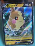 POKEMON TCG CARD Morpeko V 037/072 Shining Fates 2021 Ultra Rare Holo - NM