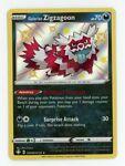 Galarian Zigzagoon SV078/SV122 Shining Fates Shiny Rare Holo Pokemon - Light Pl