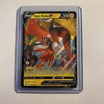 Tapu Koko V 050/163 Battle Styles Full Art Ultra Rare Pokemon Card Mint