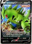 Tyranitar V 097/163 Battle Styles NM Full Art Ultra Rare Pokemon Card