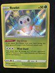 Shiny Rowlet SV001/SV122 Shining Fates Pokémon TCG Near Mint
