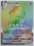 Pokemon Shining Fates Alcremie Vmax 073/072 Full Art Rainbow Rare Card NM/M