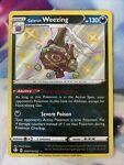 Galarian Weezing SV077/SV122 NM Baby Shiny Shining Fates Shiny Vault Pokemon TCG