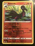 Reverse Holo Salazzle Pokémon card (Battle Styles set, 028/163, NM)