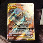 Marshadow & Machamp GX 198/214 Unbroken Bonds NM+ Ultra Full Art Pokemon 👽